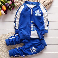 2017 new casual baby girl boy clothes cotton t shirt coat pants 3 pes suits baby.jpg 250x250