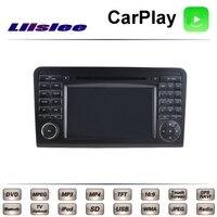 For Mercedes Benz ML350 MB W164 2005 2011 Car Multimedia TV DVD GPS Radio Original Style