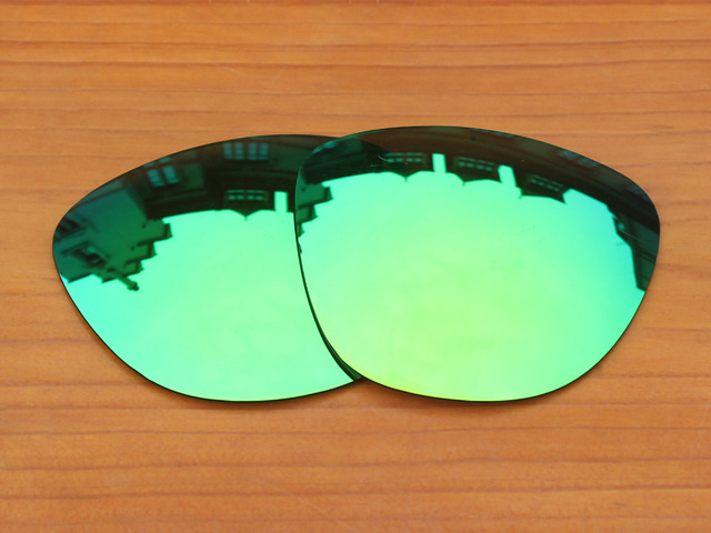 22d9a98f77 Emerald Green Mirror Polarized Replacement Lenses For Frogskins Sunglasses  Frame 100% UVA   UVB Protection
