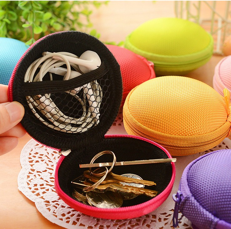 1PC Earphone Storage Bag Bins EVA Hard Phone Cable Wire Organizer Container Data Line SD Card USB Protective Carrying Box Z500