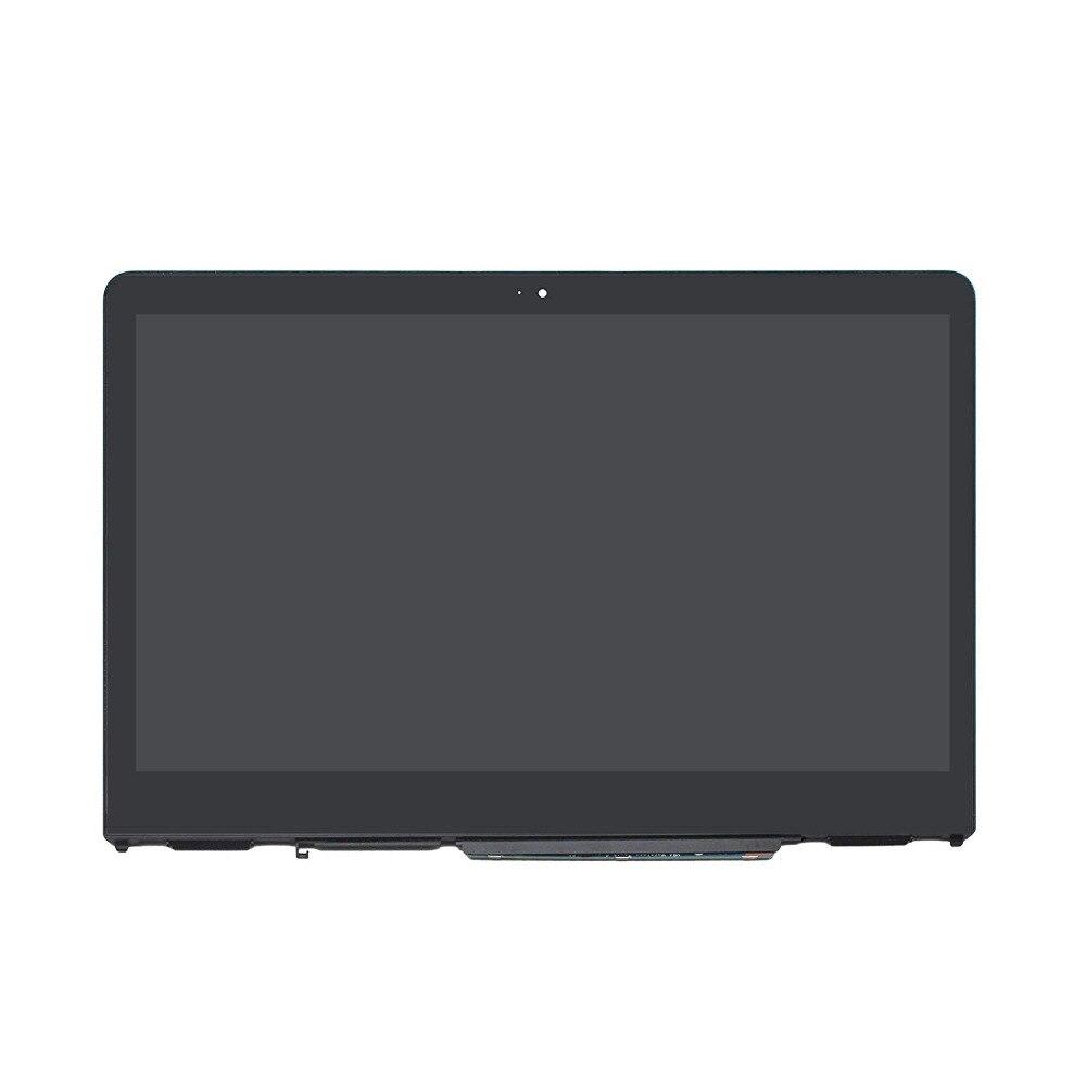 Écran tactile lcd digitizer assemblée pour HP PAVILION X360 14-BA125CL 14-BA153CL 14-BA174CL 14-ba003la 14-ba005TX + lunette En Verre