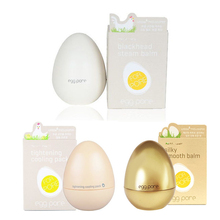 Original Egg Pore 3 Items Set (Blackhead Steam Balm + Cooling Pack+Smooth Balm) Face Mask Black head Remover Shrink Pore Smooth
