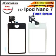 Replacement For iPod Nano 7 7th 7Gen Front Touch Screen Top quality for ipod Nano7 lcd screen Digitizer Glass Lens цена