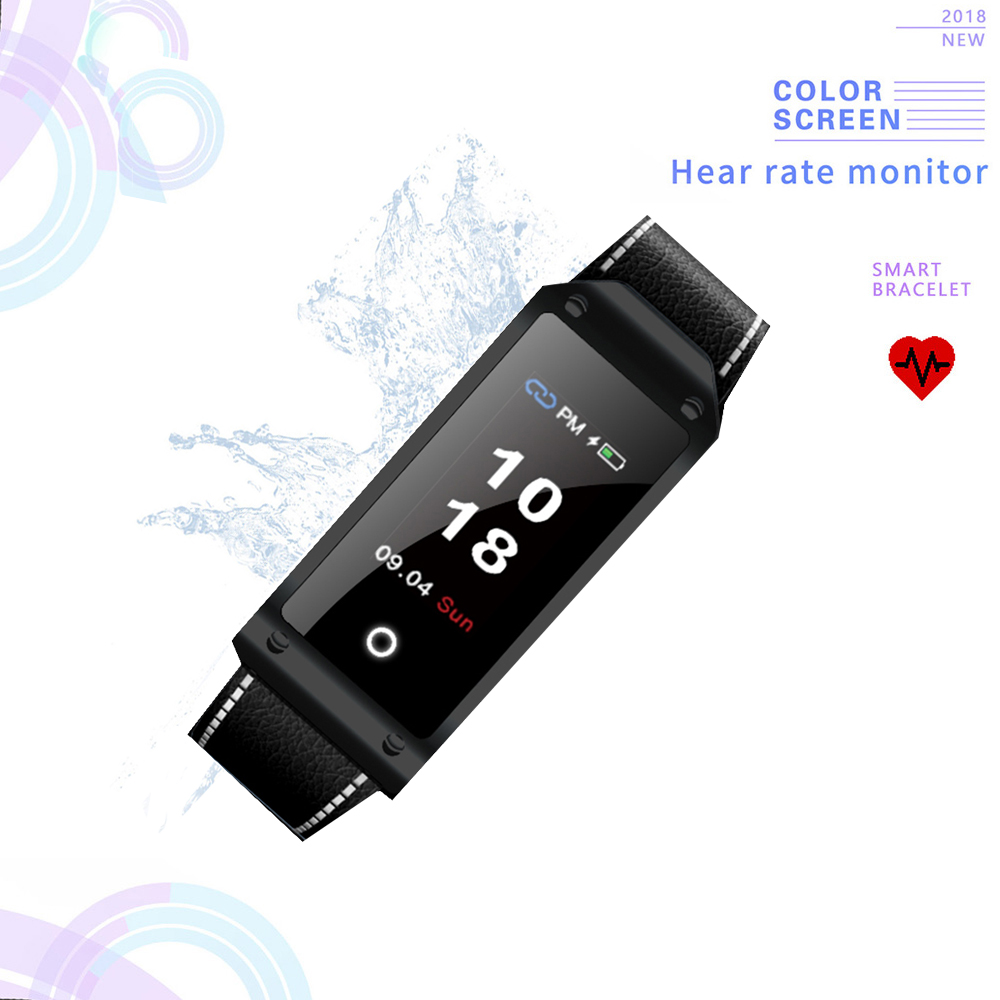 Excelvan B30 Smart Bracelet Heart Rate Tracker Blood Pressure Monitor Ip67 Waterproof Bluetooth 4 0 Fitness Band For Ios Android Smart Wristbands Aliexpress