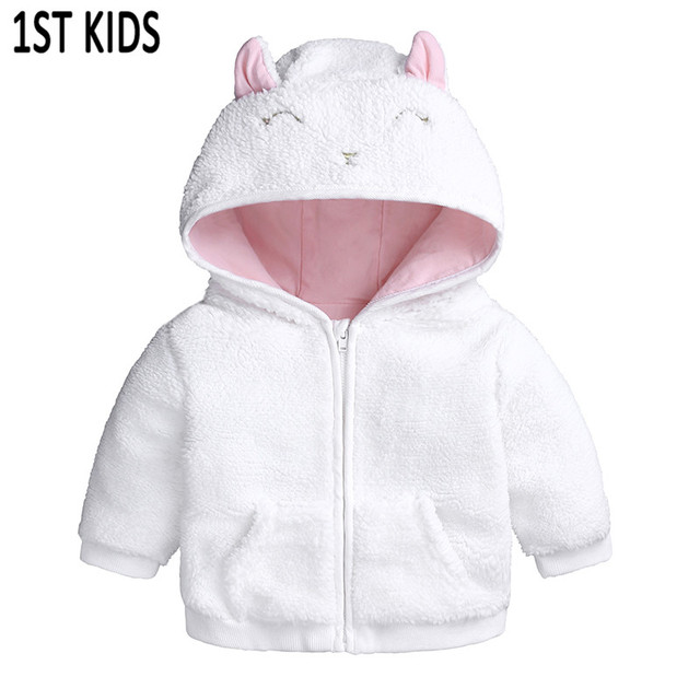 e1841b6b5 Fashion spring baby coat Lamb Cashmere baby boy girl pajamas for ...