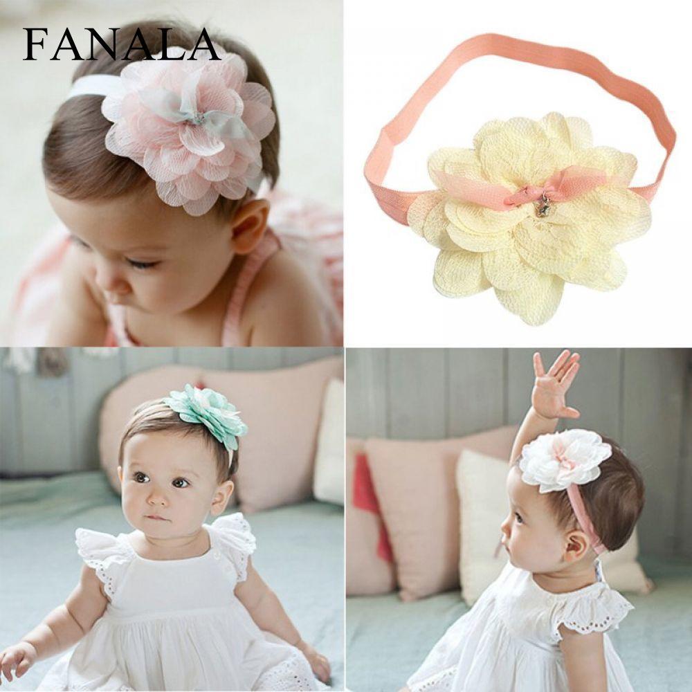 Lace Band Hair Flower Accessories Headwear 1 Girl pcs Headband Kids