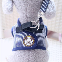 Dog Harness Pet Puppy Vest Leash Walking Traction Rope Jeans for Small Cat Outdoors Accessories