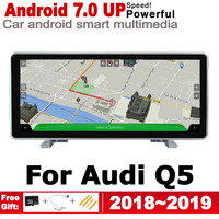 Car Android screen For Audi Q5 FY 2018~2019 MMI touch display GPS Navigation radio stereo Audio head unit multimedia player