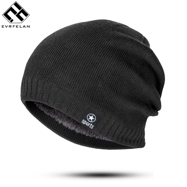 Hot Beanie Winter Hats   Caps Women Knitted Wool Cap Men Casual Unisex  Solid Color Hip-Hop Skullies Beanies Warm Hat Bonnet Male 24bea637aa6e
