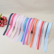 Fashion Craft Belt 2cm*20 Yards Garment Webbing Polyester Four-point Embossed Point Embossing Factory Direct Wholesale