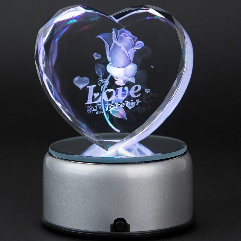 Aliexpress.com : Buy 3D/2D Laser Crystal Heart Subsurface