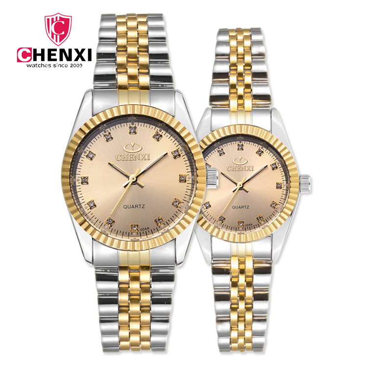 Brand Luxury Lover Watches Quartz gold Dress Women Men Watch For Couples 2018 New Fashion Wristwatch Relojes Hombre free shipping formatter pca assy formatter board logic main board mainboard for hp cm1415fn cm1415fnw ce790 60001 ce690 67901 page 5