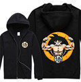 Dragon Ball Z Hoodies Son Goku Printed Zipper Hooded Sweatshirt Fleece Fashion Goku Hoody Coat High Quality