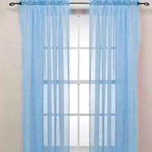 Hot Sell Chic Room Solid Voile Window Curtain Sheer Voile Panel Drapes translucidus Curtain цена 2017