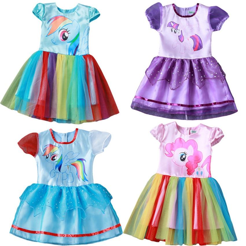 Yaz My Baby Girl moda Pambıqlı paltar Uşaq geyimləri Qızlar - Uşaq geyimləri - Fotoqrafiya 2