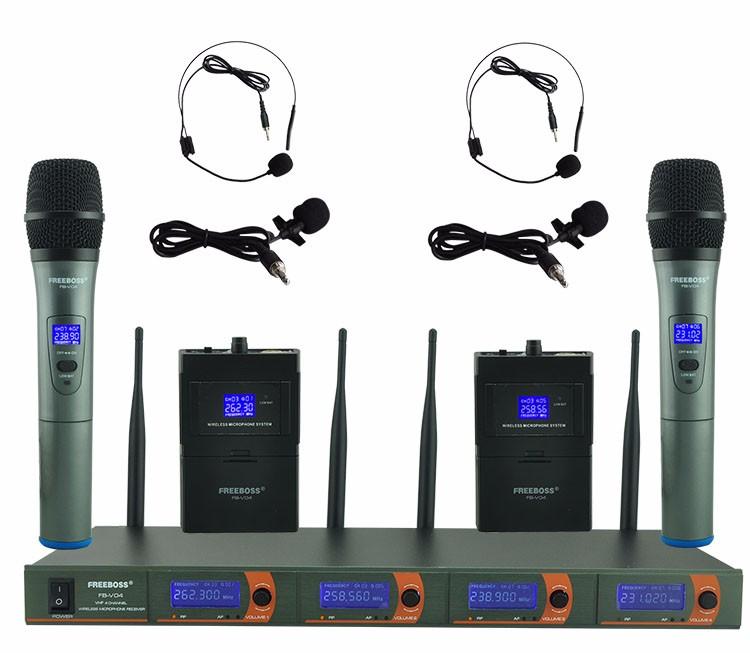 FB-V04 12 Wireless Microphones