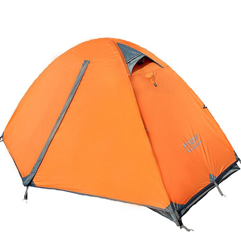 ФОТО Camping outdoor 1 person Double layer Double door Riding Walking hiking hunting fishing tent Waterproof Camping equipment .18KG