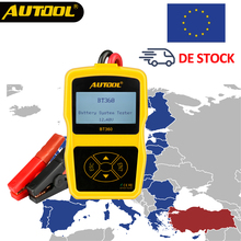 Germany Stock!! Delivery in 5day!! AUTOOL BT360 12V Car Battery Tester