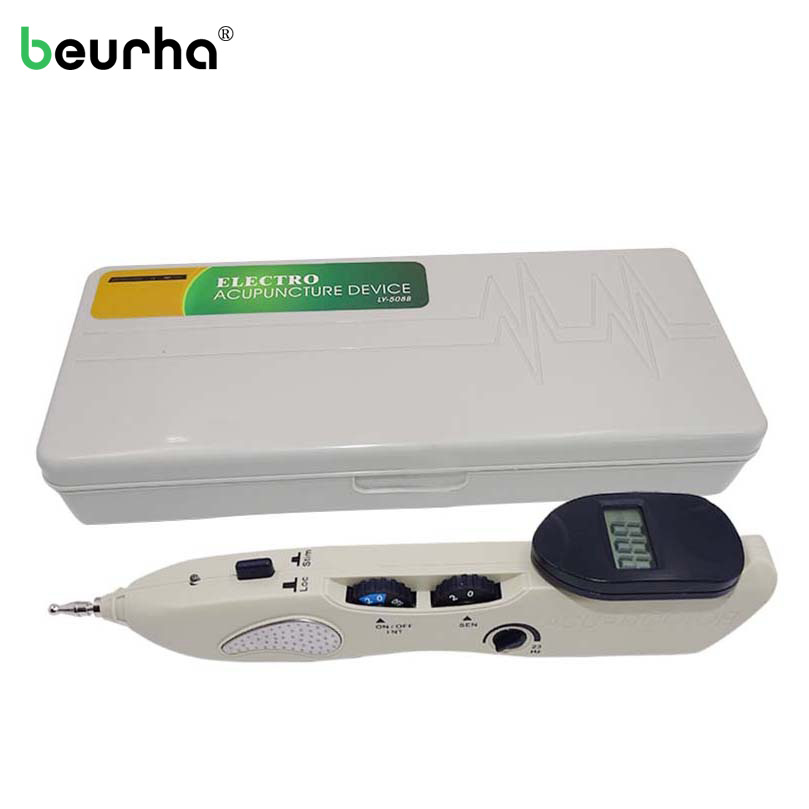 Family Care Acupuntura Point Detector Electric Acupuncture Meridian Pen Electronic Acupuntura Massage Pain Therapy Health Device