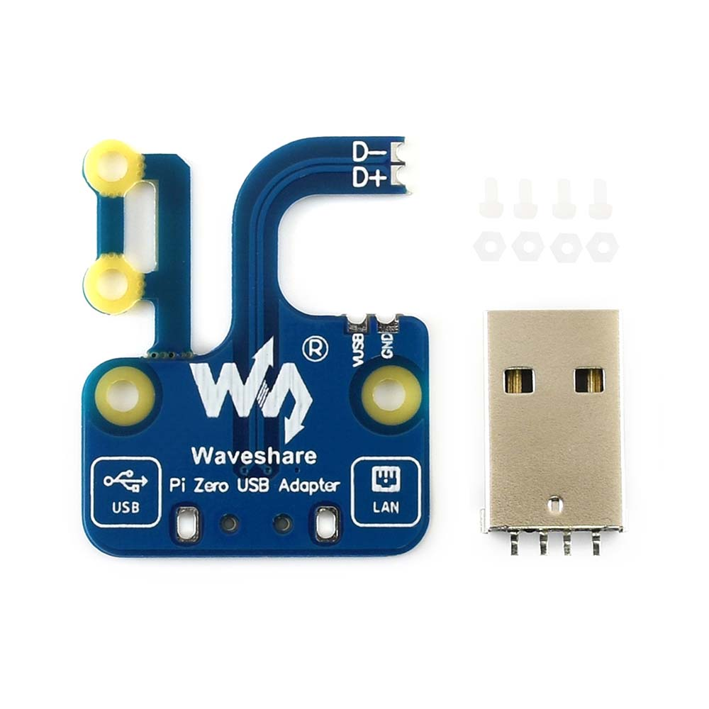 Pi Zero USB Adapter, Additional USB-A Connector For Raspberry Pi Zero/Zero W/Zero WH.