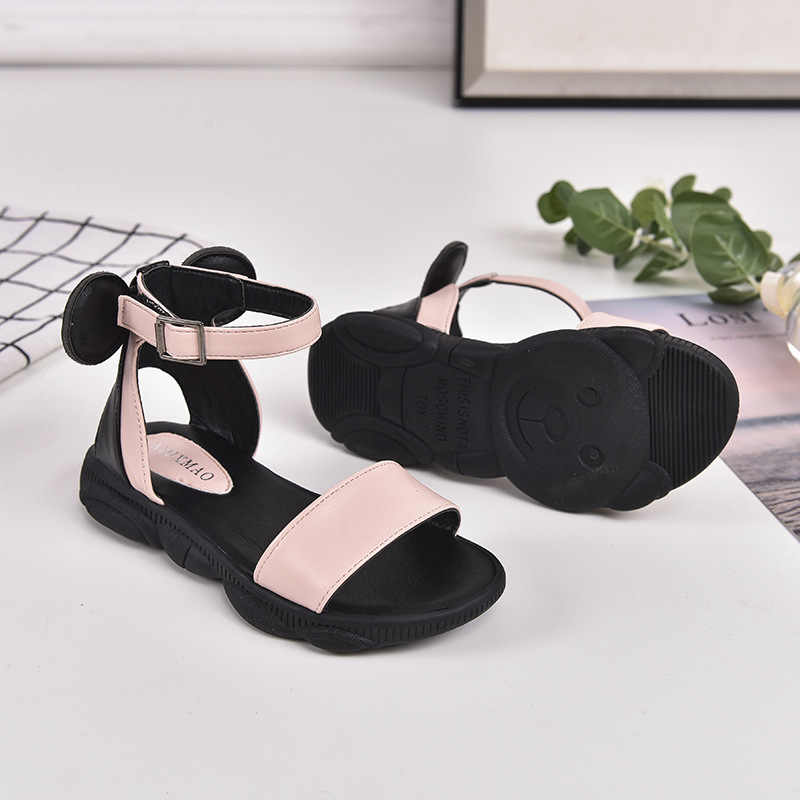 Cute Children/'s Boy Girl Summer Beach Bow Kids Shoes Sandals Size 4.5-11 D5074
