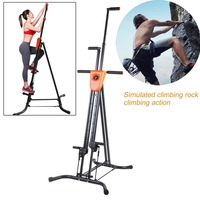 OUTAD Digital Display Foldable Vertical Climber Climbing Machine Exercise Training Cardio Stepper Fitness Workout Gym Equipment