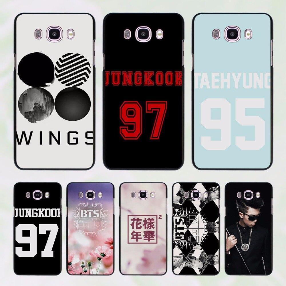 BTS bangtan Boys 30 design hard black Case for Samsung Galaxy J7 J5 2016 J7 Prime J510 J5 Prime J3 J2 2016 J1