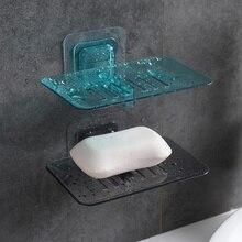 1 шт. Настенный мыльница на присоске, держатель для мыла, прочный креативный мыльница, держатель, без ударов, аксессуар для ванной комнаты