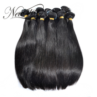 NEW STAR Wholesale 10 Bundles 10 34 Inches Brazilian Straight Virgin Human Hair Extension Cuticle Aligned Weave Salon Supplies