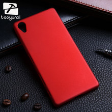 TAOYUNXI Matte Plastic Mobile Phone Case Cover For SONY Xperia X Dual F5122 F5121 5.0 Inch Case Cover Housing Shell Shield(China)