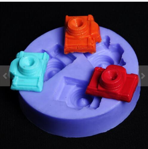 Soap Silicon Mold tiny 3 holes cavity Camer…