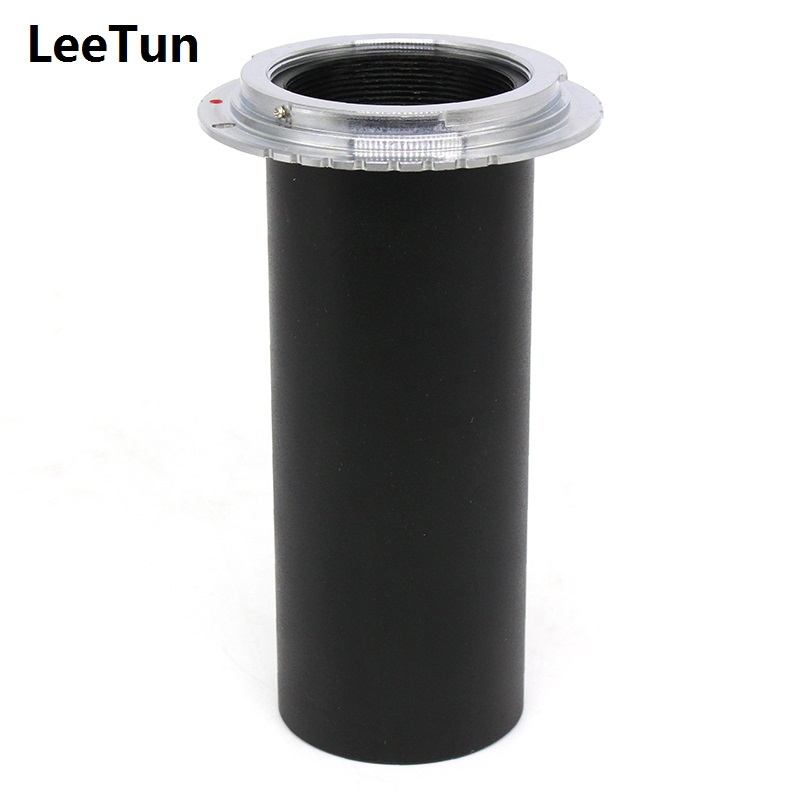 Microscope Camera Adapter Lens Tube Adapter Ring 50mm to Thread M42 to C-Mount for Connect Canon DSLR Camera Microscope new phototube to c mount camera adapter u tv1x 2