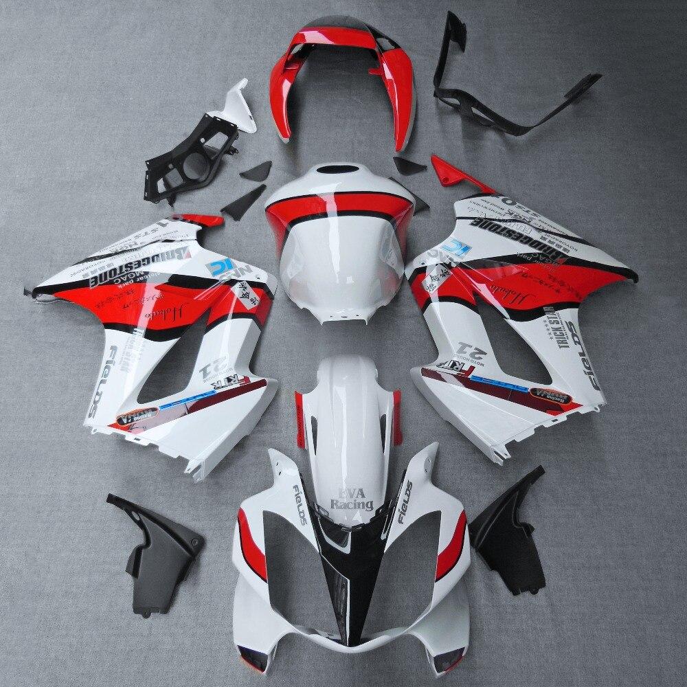 New Injection ABS Fairing Bodywork Panel Kit Set Fit For Honda VFR800 2002-2012 03 04 05 06 07 08 09 10 11