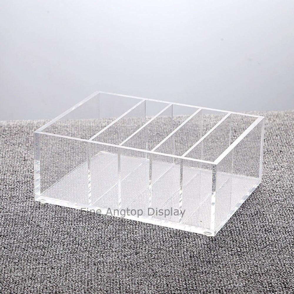 5 Compartment Clear Acrylic Organizer Jewelry Display Box коробка для мушек snowbee slit foam compartment waterproof fly box x large