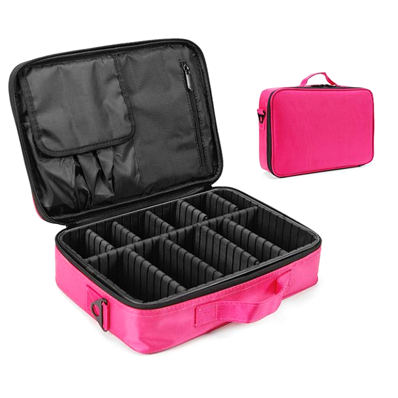High Quality Makeup Beauty Case Professional Makeup Artist Cosmetics Suitcase Organizer Woman Travel Neceser Cosmetic Bags