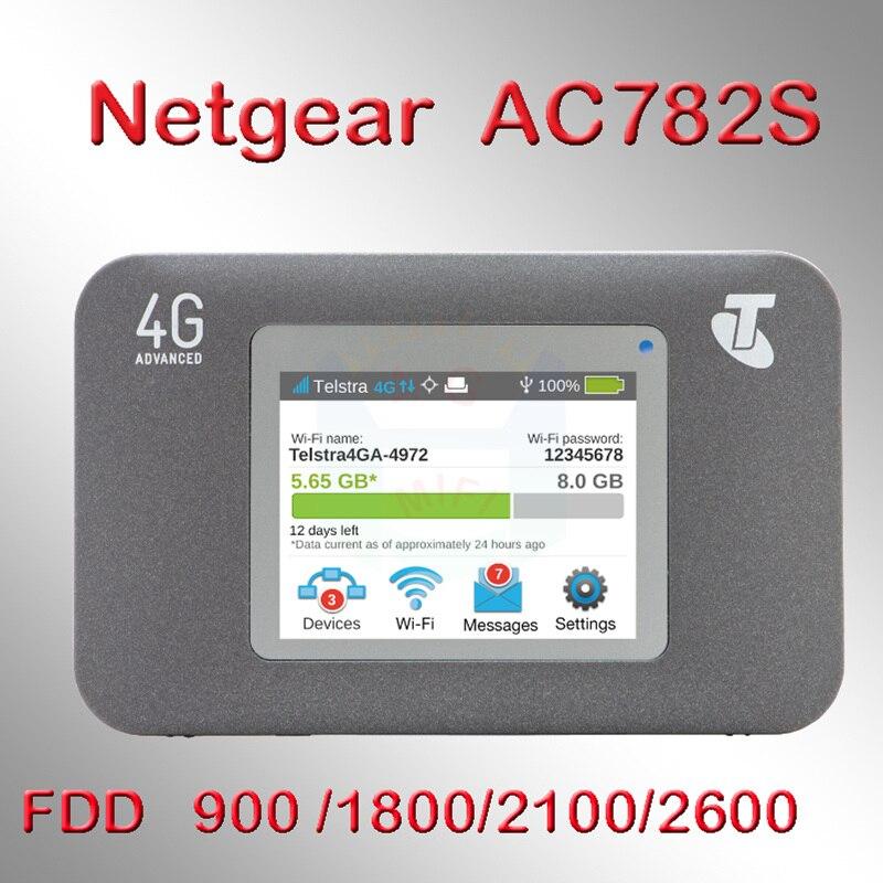Desbloqueado Usado Aircard 782 S Lte 4g Roteador Sem Fio 4g Wifi Dongle 5ghz Wifi Roteador Mifi Hotspot Bolso Usb Wi Fi Roteador 4g Lte