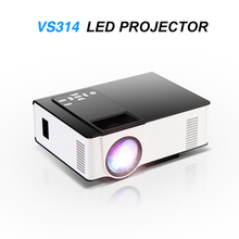 VS314 LED Mini Projector Full HD 1500 Lumens 800 x 480 Pixels 0.9 – 6M Home TV Media Player Portable Home Theater Proyector