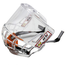 New2019 free shipping&size full face hockey protector 100%PC clear cage light weight cold resistance resist-hitting  hockey cage цена в Москве и Питере