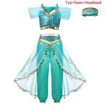 Girl Disney Princess Cosplay Costumes Dress Children Halloween Cosplay Dress