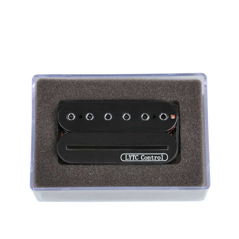High Quality Electric Guitar Pickup Dual Rail Bridge Humbucker Humbucking & Single Coil Pickup kmise electric guitar single coil pickup set invader type for strat replacement sets of 3