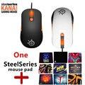 Freies verschiffen ursprüngliche Steelseries Kana V2 maus Optische Gaming Maus & mäuse Rennen Core Professionelle Optische Spiel Maus