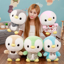 Kawaii Stuffed Penguin Plush Cartoon Soft Animal Dolls For kids Christmas toys