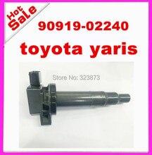 Комплект 4 идеальный новое качество Катушка зажигания для Toyota Yaris 90919-02240 90919-t2003 90919-02265