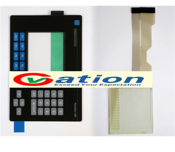 For PanelView 600 2711-B6C5L1 Touch Screen +Protective Film
