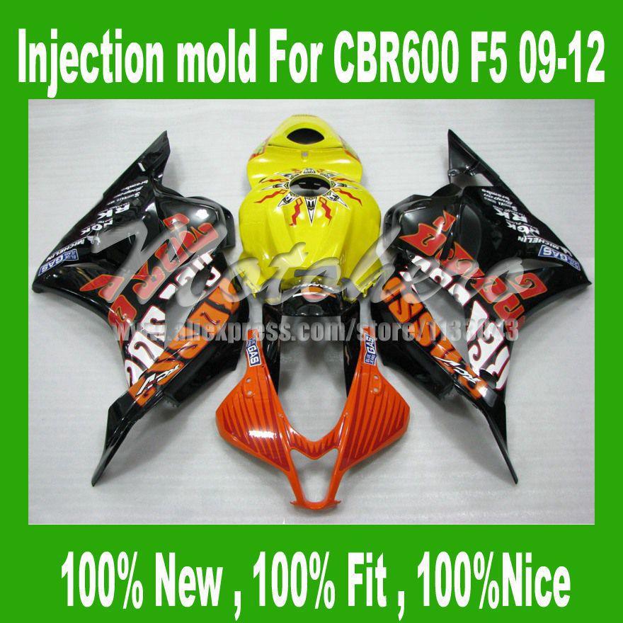 ୧ʕ ʔ୨CBR600RR F5 carenados para Honda cbr600 F5 2009 2010 cbr600 ...
