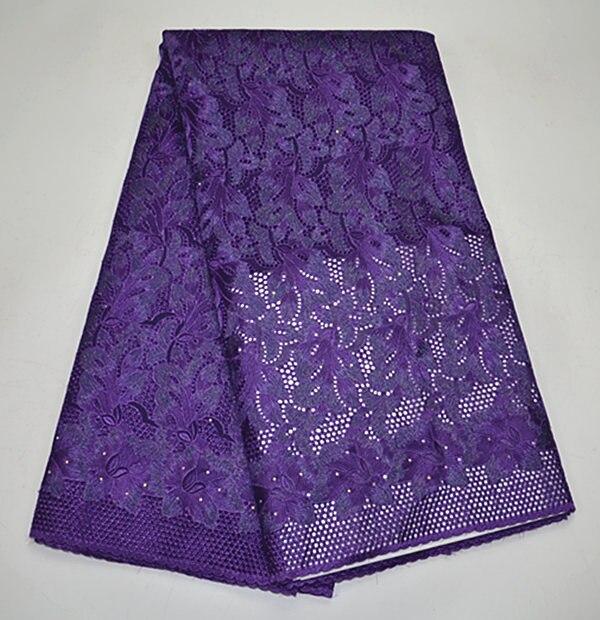 PSY244-3! (8 renk) Üst Satış renkli Pamuk Için Swiss Dantel Afrika Nakış Dantel Kumaş Güzel Renk Lüks Lady Elbise!