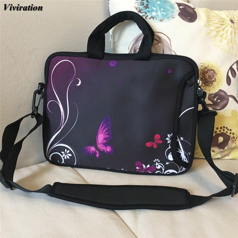 Viviration Computer Cover 14 15 13 12 10 17 Women Fashion Handbag For Asus Chuwi hi12 Macbook Pro Laptop Bag 15.6 Zipper Case