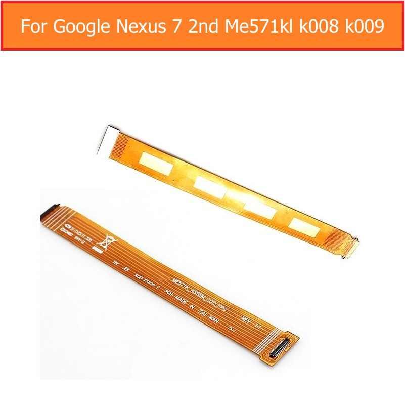 Oryginalny LCD wyświetlacz Flex kabel do Asusa Google Nexus 7 2nd Gen 2013 ME571K ME571KL K008 K009 główny moduł tablicy z Flex Cable