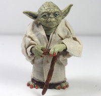 12cm Star Wars Jedi Knight Master Yoda Action Figure Collection Toys For Christmas Gift Free Shipping