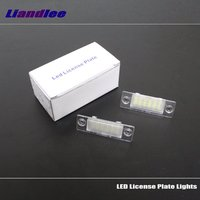 Liandlee For Volkswagen VW Golf 5 Plus CrossGolf Cross Golf Car License Plate Lights Number Frame Light / High Quality LED Lamp